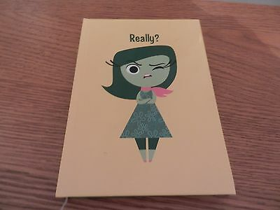 """A5 Hardcover  Notebook – Disney Pixar """"Inside Out"""" –  Ruled"""