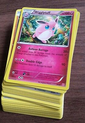 44 bulk pokemon cards from trainer sets - genuine - incl holo cards