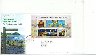 FDC Celebrating Northern Ireland 2008, Royal Mail First Day Cover