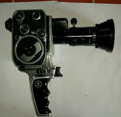 Camera bolex paillard zoom reflex 8mm collection