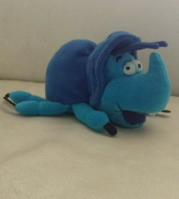 Dim Rhinoceros Beetle from A Bugs Life Plush Soft Toy Rare Collectors by Disney