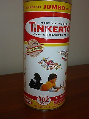 TINKERTOY Classic Construction Set - RARE creative & educational. Paid over $100