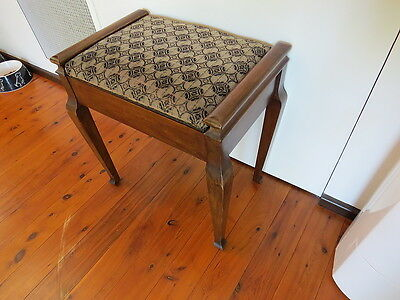 Vintage Piano Stool - Versatile Style With Excellent Internal Storage