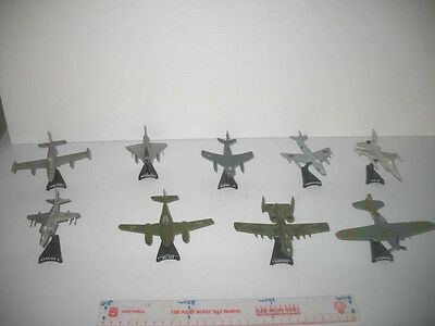 Military Diecast Toys Airplanes X9 Fighter Jet Collectible