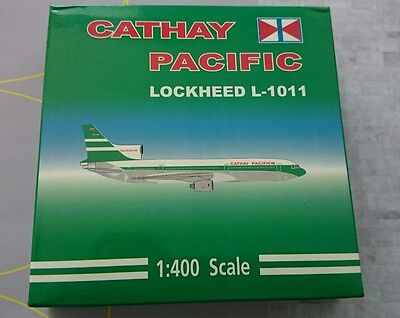 Cathay Pacific L1011 1/400 by Dream Jets VR-HHW.  BRAND NEW,  MINT CONDITION