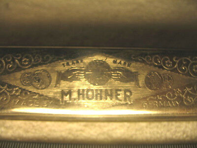 Vintage Harmonica Harp M.Hohner Everybody's German Made Collectible