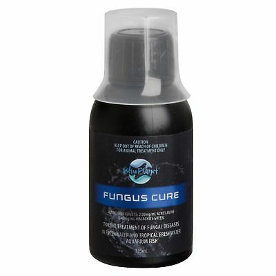 Blue Planet Fungus Cure 125ml Medication Fungal Disease Freshwater Fish