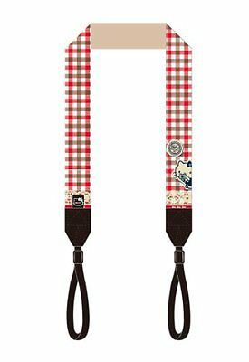 Pasha Labo Camera Neck Strap Hello Kitty Check