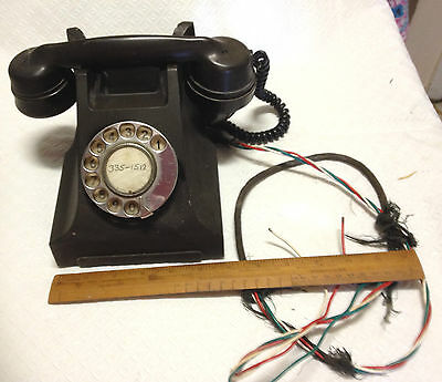 Pmg Bakelite Vintage Antique Telephone Old Collectable