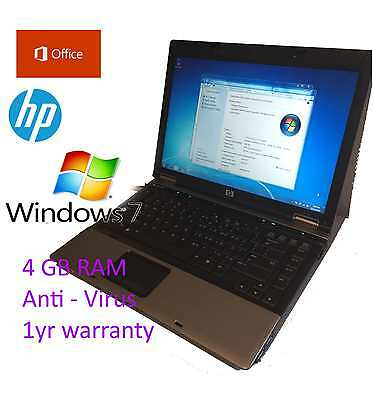14″ HP Laptop Windows7 Office2013 4GB RAM 160HG DVD/ Wifi / SD 1yr warranty