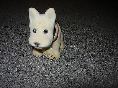 Vintage Nodding Dog/ West Highland Terrier