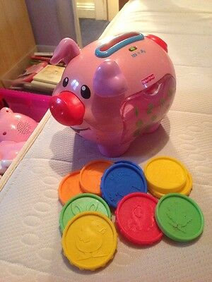 Fisher Price Piggy Bank Coin Sorter