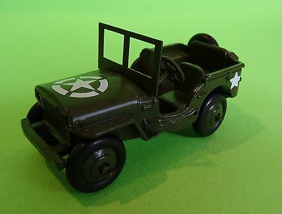 Dinky Toys 153A US Army Jeep Made In England - Unboxed-May be refurbed  Exlnt