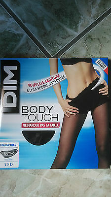 collant DIM Body touch noir Taille 2