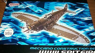 Meccano Construction Set - WWII Spitfire - Marks & Spencer Exclusive - Unopened