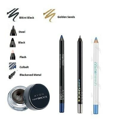 Avon Gel Eyeliner ~ Supershock, Color Trend, Mega Effects