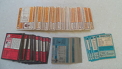 Over 160 Topps Football Cards from different series