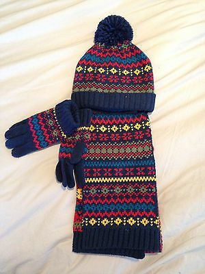 Brand New Hat Scarf And Gloves Set Boys