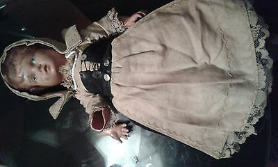 very old victorian style doll