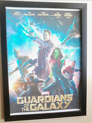 Guardians of the Galaxy (2014) framed movie poster print