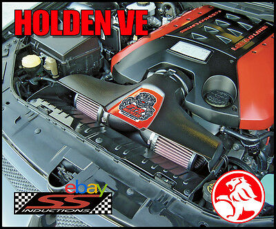 Holden Ve V8 Otr - Ss Inductions Growler Cold Air Induction (Black)