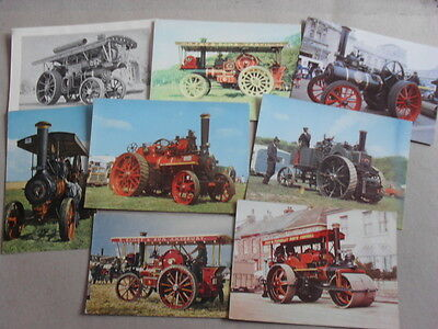 Transport Postcard - Steam Traction Engines - Job Lot 7 Cards - 1 Picture