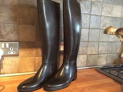 New, Leather Look Yard/ Riding Boots 6.