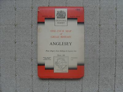 1953 OS Map - Anglesey.