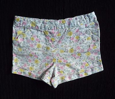 Childrens/kids clothes GIRL 3-4 years 98-104cm white/floral TU 3-4 years shorts