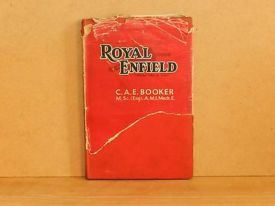 Hardback book - Royal Enfield by C A E Booker