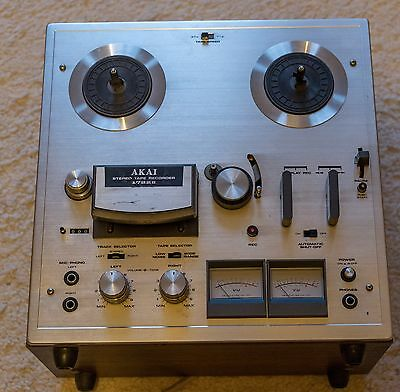 Akai reel to reel tape recorder 1722 mk2 - fully working