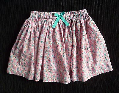 Childrens/kids clothes GIRL 2-3 yearw 98cm NEXT pink/blue floral lined skirt