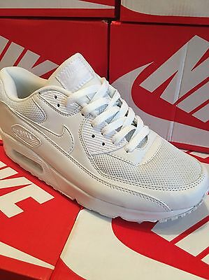 Boxed Air Max 90 Trainers White Size 9