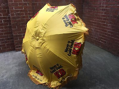 KB Lager Vintage Namco Collectable Umbrella Stunning Condition
