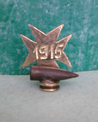 WW1 RELIC Trench art: German relic of 1915