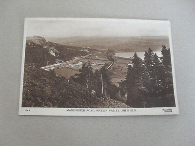 Postcard - Sheffield - Rivelin Valley - Manchester Road - Aerial View - Houses