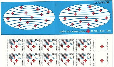 Carnet Timbres  Croix Rouge France Neuf Annee 1988