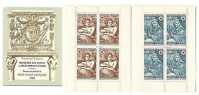 Carnet Timbres  Croix Rouge France Neuf** Annee 1969