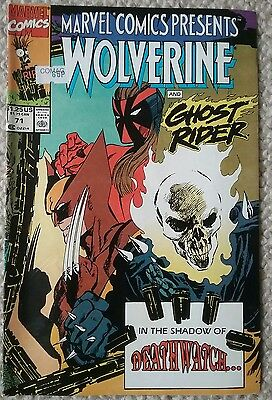 Wolverine and Ghost Rider 71