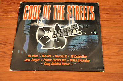 "Code Of The Streets Album 12"" Jungle Drum n Bass Record Vinyl LP 'n'"