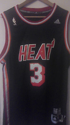 Jersey HEAT MIAMI #3 WADE TAILLE L