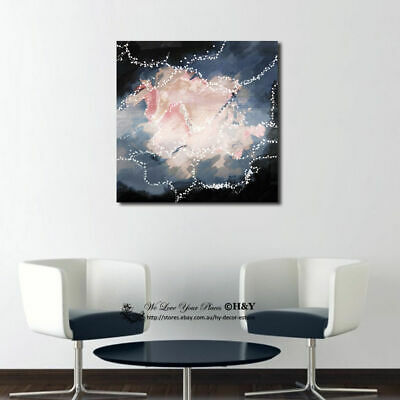 Abstract Pattern Stretched Canvas Print Framed Wall Art Home Decor Painting Gift