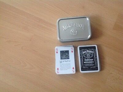 Jack Daniels Playing Cards In Tin