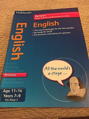 English Revision Book Key Stage 3 , 11-14 Years