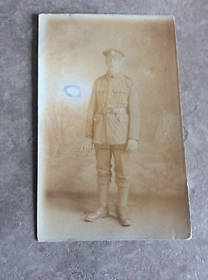 WW1 Postcard Private Yorkshire Regiment Green Howard's
