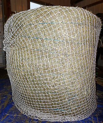 """1-1/2"""" Mesh Woven Polyester  Hay Net for Round Bales"""