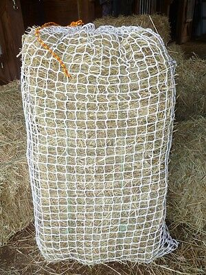 """Slow Feed Hay Bag, Net Style, 1-1/2"""" Mesh - WOVEN polyester"""