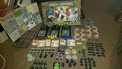 Space Crusade  Games Workshop Mb Games. Many Parts Still Unpunched!