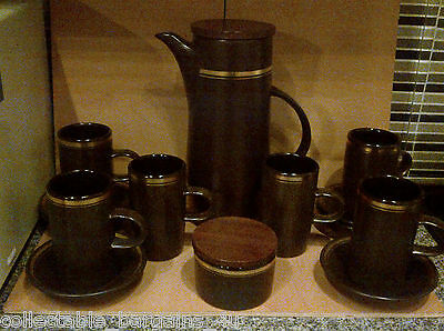 Purbeck Pottery Coffee Set