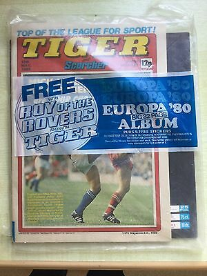Panini Europa 80, Empty Album, With Magazine And Plasic Cover + Sticker Packet